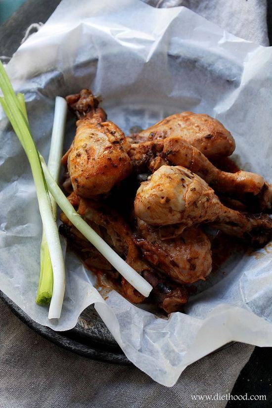 Slow Cooker Buffalo Chicken @Kat Ellis Petrovska