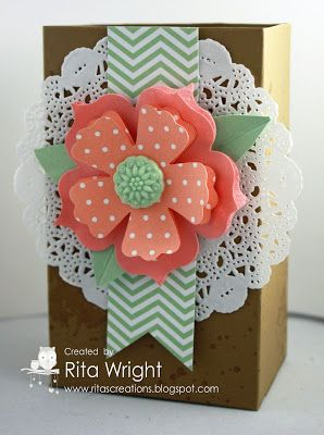 by Rita Wright, Rita's Creations: Stampin' Up! Gorgeous Grunge Gift Box