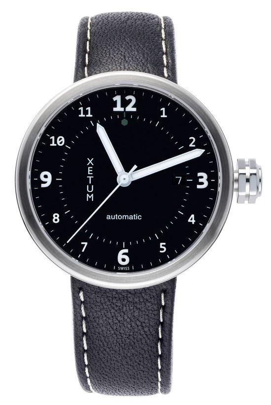 Xetum Stinson men's watch - #watches #fashion #design #modern #menswear #horology #Swiss watch #mens style #mens watch #Automatic Watch #wrist watches #modern design