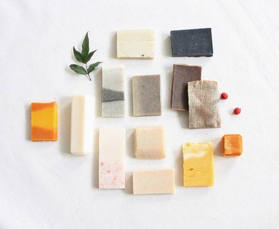 morning calm soap bits.