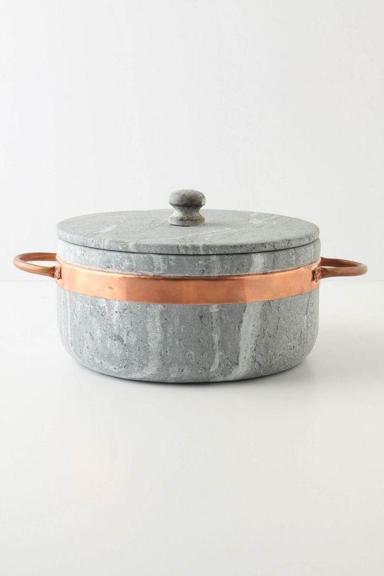 Stone & Copper Stock Pot