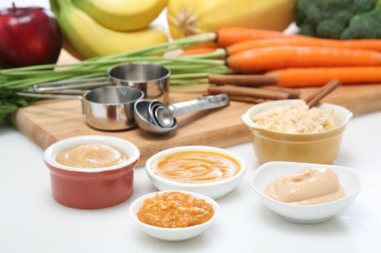 Homemade Baby Food Recipes