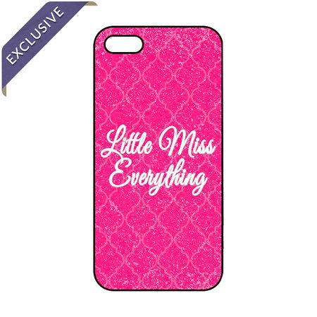 Little Miss Everything iPhone Case.