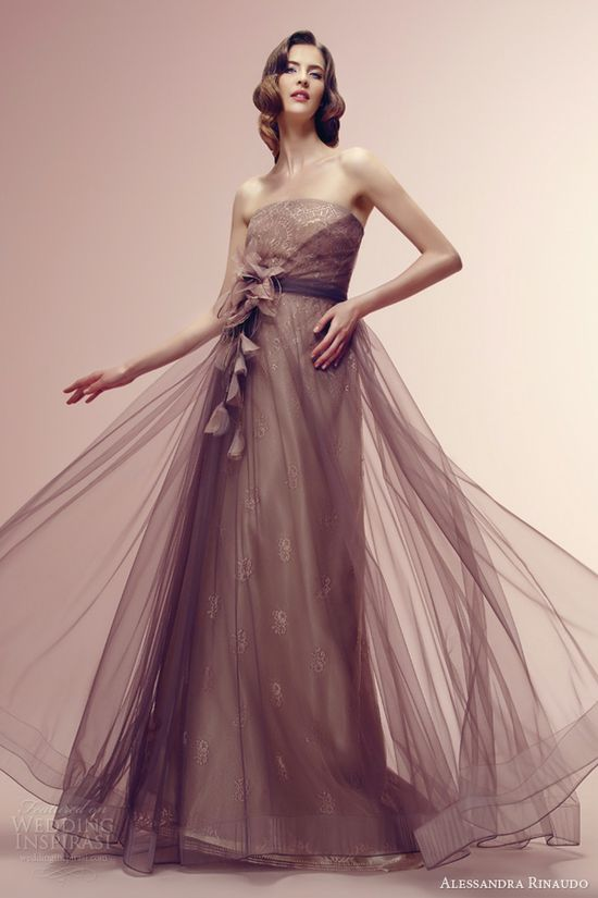 alessandra rinaudo wedding dress 2014 rania strapless column gown