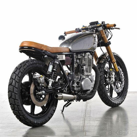 1979 Yamaha SR500 custom motorcycle