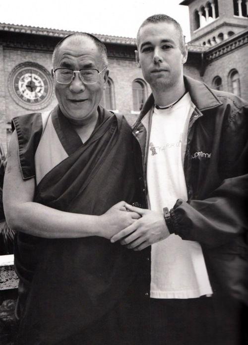 the Dalai Lama & MCA. RIP!