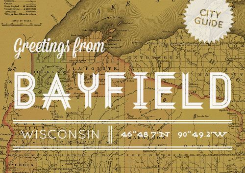 Our city guide to beautiful Bayfield, Wisconsin #travel #guide #cityguide #bayfield #wisconsin