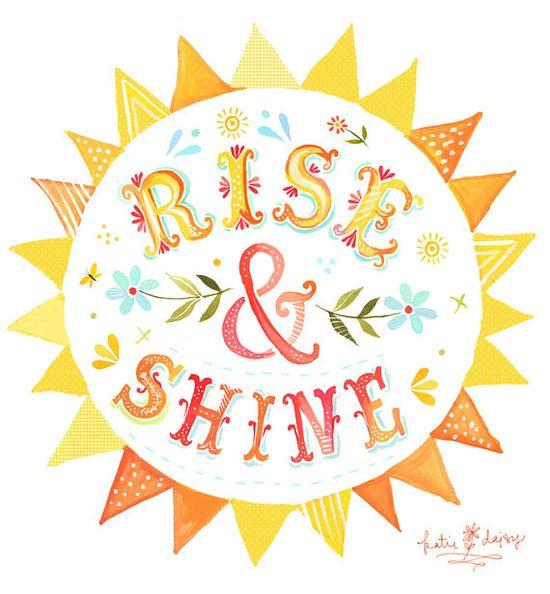 Rise & Shine - 8x10 print - vertical