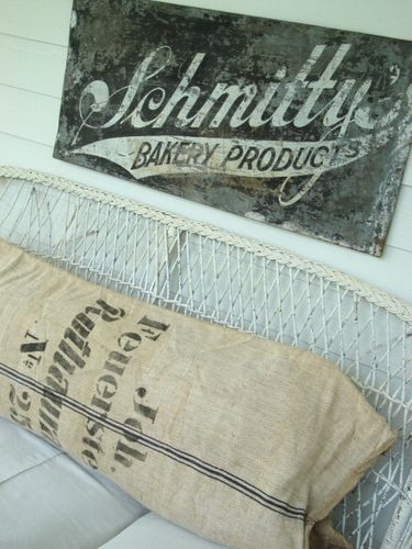 Old bakery sign.