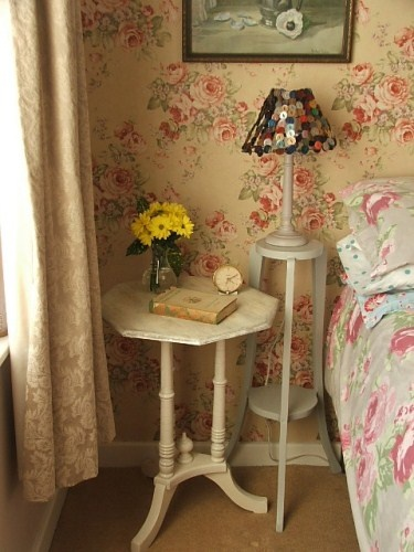 #shabby #floral #bedroom