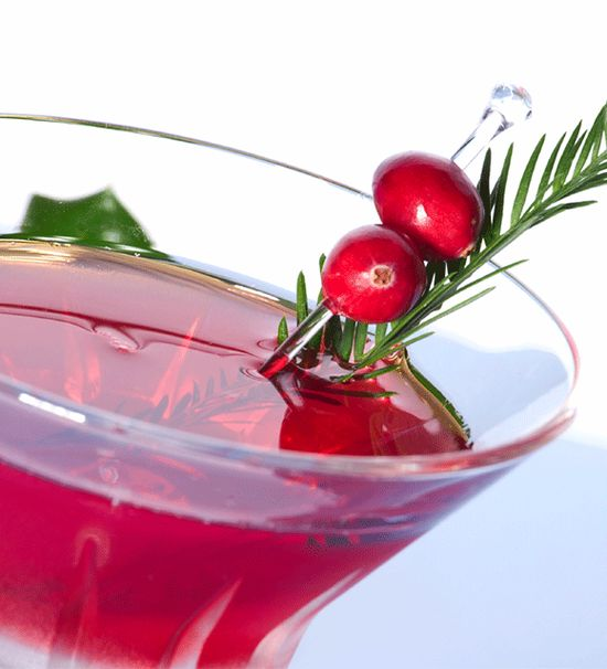 Mistletoe Mocktail Whip up a refreshing, alcohol-free drink made with the fruits of the season! This concoction is perfect for a martini gla...