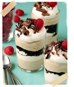easy tiramisu trifles