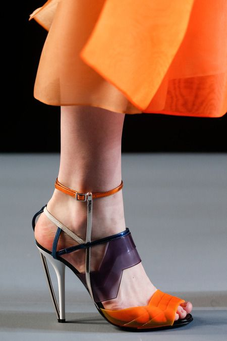 More amazing shoes from @Fendi Huang Huang Huang #MFW