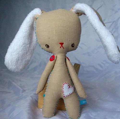 Handmade Plushie by Tiddlewinks