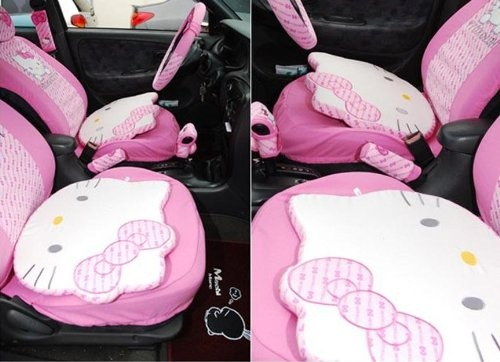 Pink Car Accessories