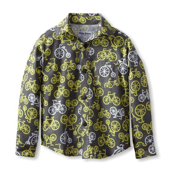 Bike Print – Cute Kids Clothes