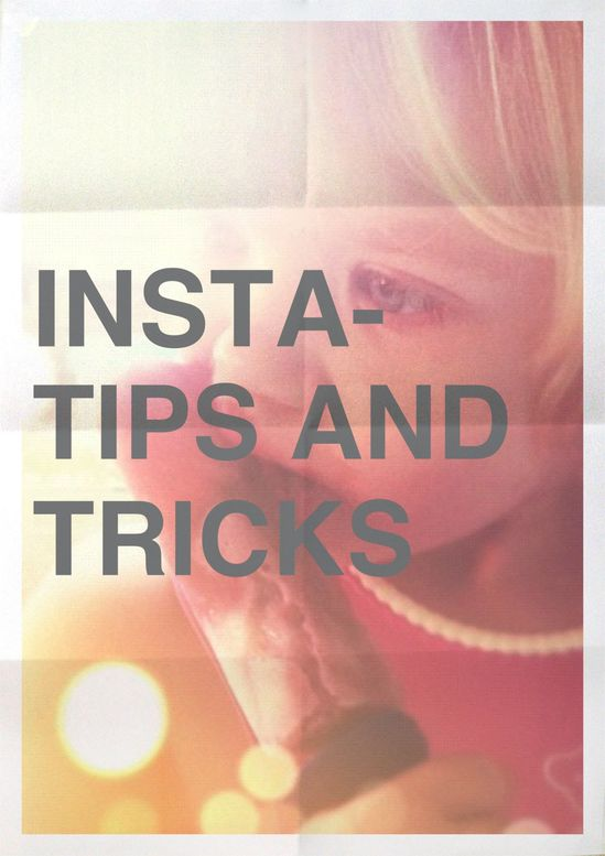 GREAT tips on how to take GREAT instagram pictures!  Can't wait to try some of these!