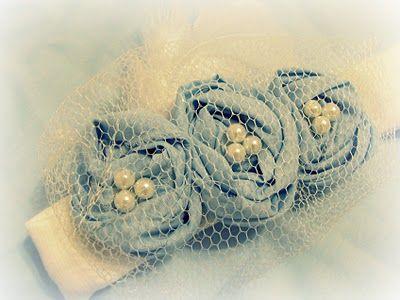 TUTORIAL to make your own cute vintage baby headbands! :)  On www.u-createcraft...