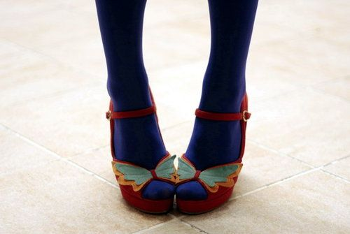 {butterfly shoes}