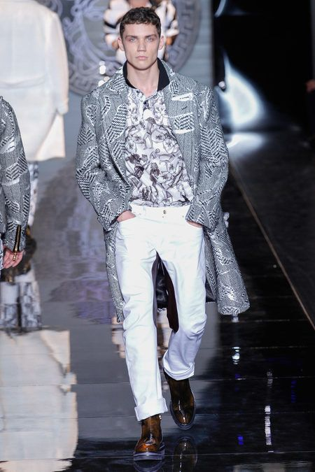 FALL 2013 MENSWEAR  Versace