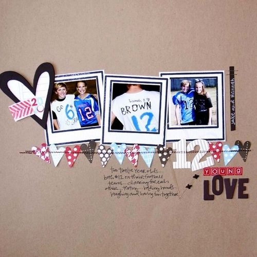 Love the heart banner
