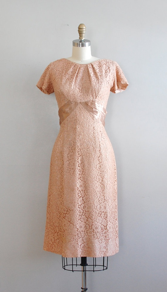 lace 1950s dress / 50s lace dress / Whos Sorry Now dress