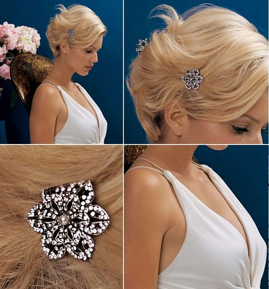 romantic wedding hairstyles 1 Romantic Wedding Hairstyles