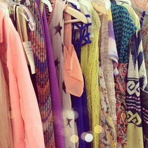 Our summer lookbook closet. :) #threadsence #fashion
