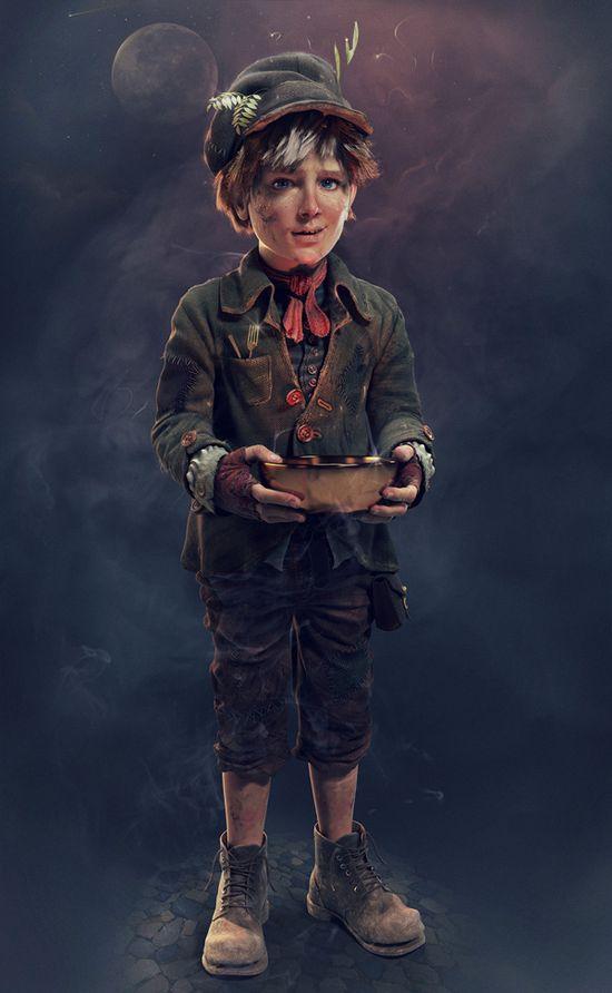 3D Character Portfolio by Seid Tursic, via Behance