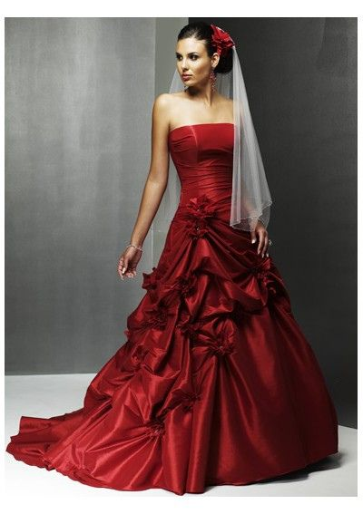 Red Wedding Dress...