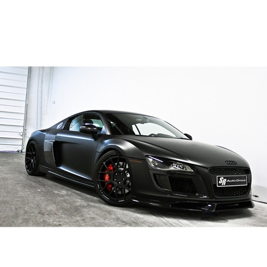 Cool, black and Audi