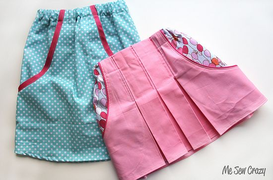 a-line skirt tutorial.
