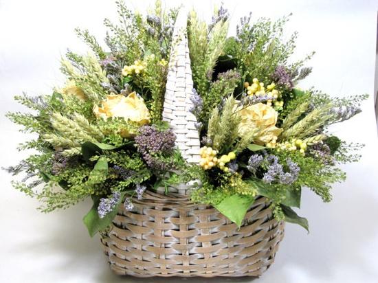 Dried Floral Arrangement $58.00  #driedflowers #arrangements #flowers