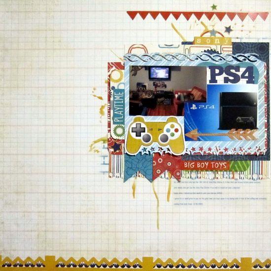 PS4 - Scrapbook.com