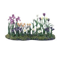 Miniature Handmade Flower Border