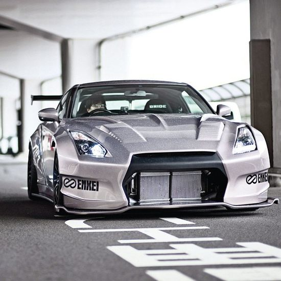 Nissan GT-R R35 with BenSopra kit