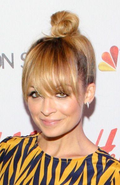 Nicole Richie's super-cute bun