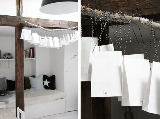 Advent calendar, cool idea ! - ideasforho.me/... -  #home decor #design #home decor ideas #living room #bedroom #kitchen #bathroom #interior ideas