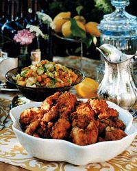 Lemon-Brined Fried Chicken Recipe from Food & Wine