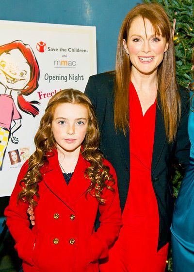 Julianne Moore y su hija Liv