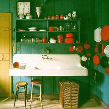interior - cabin kitchen