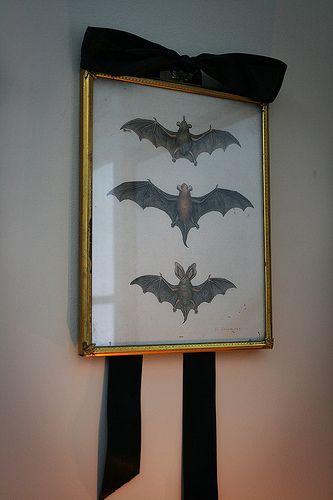 Bat art for Halloween