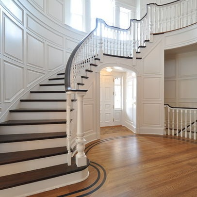 Traditional Home Staircase Wall Decor Design, Pictures, Remodel, Decor and Ideas - page 3
