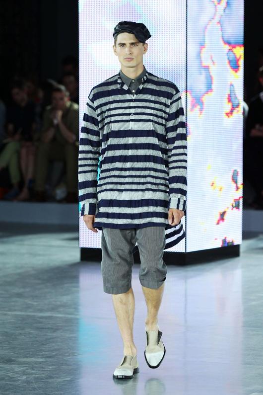 Stripes Galliano S/S 13