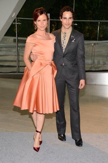Celebrities at the CFDA Awards 2013