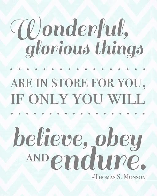 wonderful, glorious things!