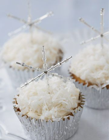 Snowflake Cup Cake