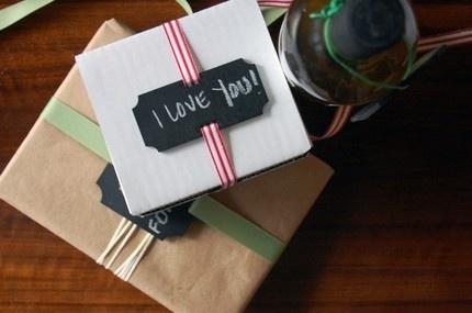 Chalkboard Gift Tags.