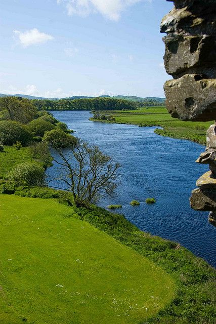 River, Threave  castle, Scotland