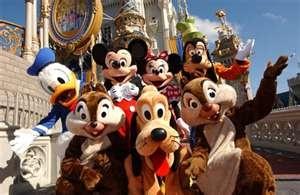 Mickey & Friends ~ Disney World, Orlando